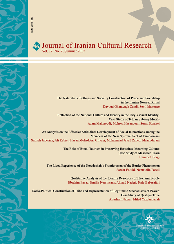 Journal of Iranian Cultural Research